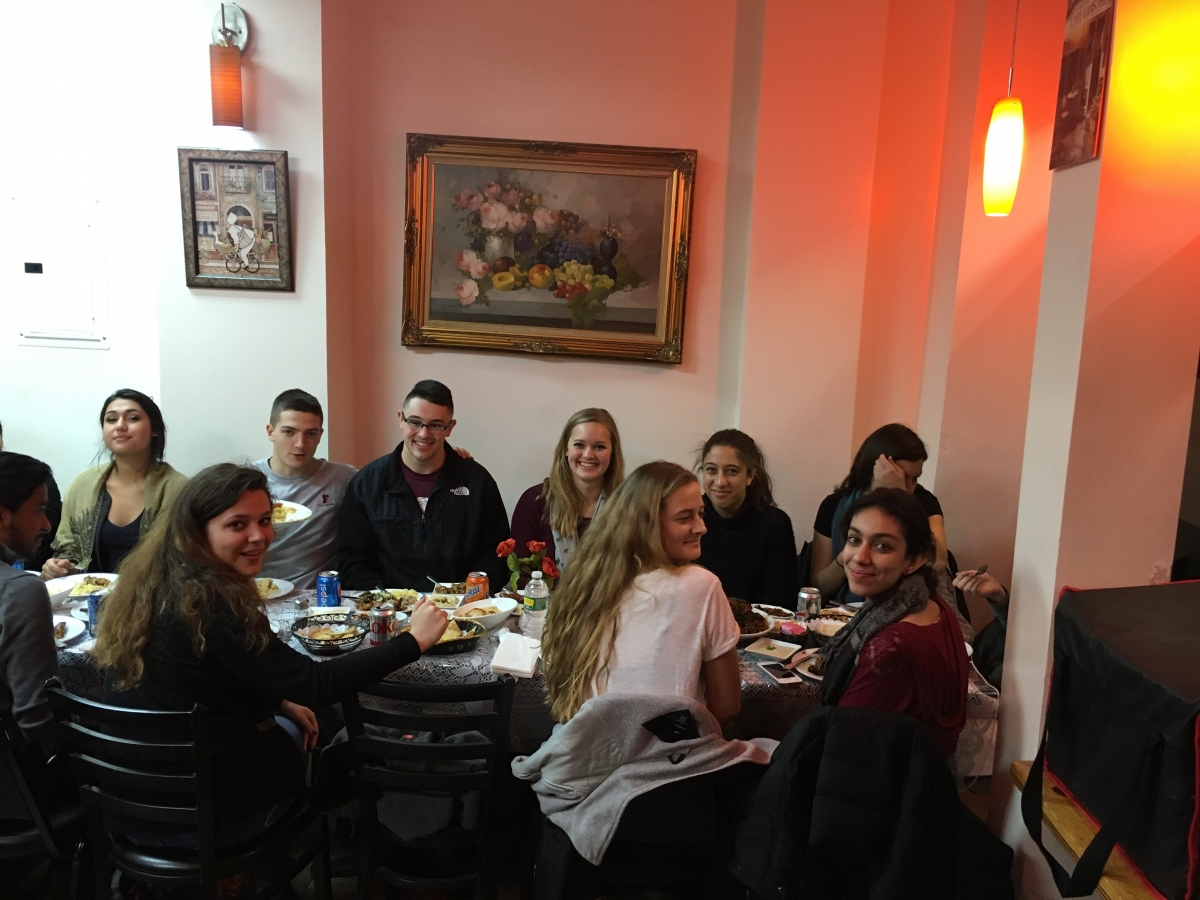 Arabic Field Trip Fall 2015