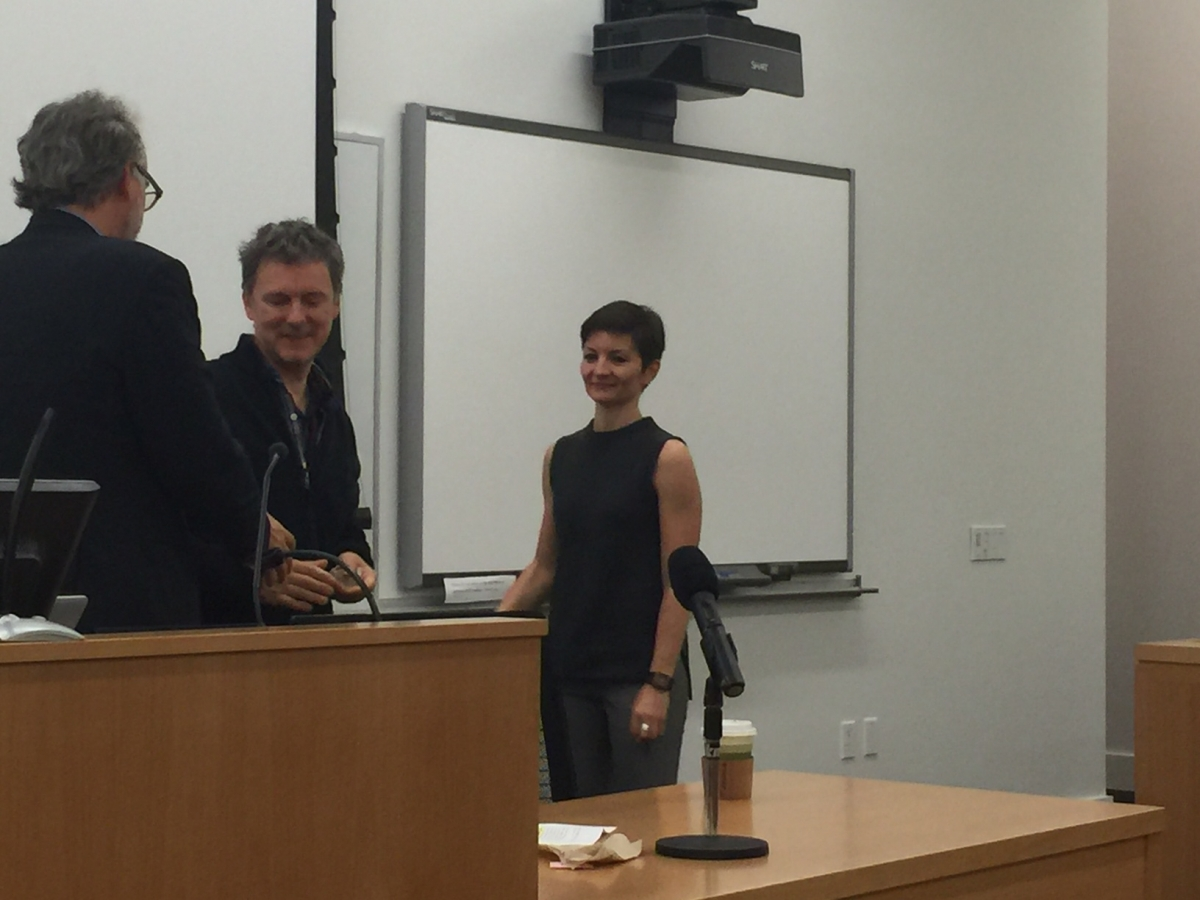 Masterclass with Michel Gondry - October 2015