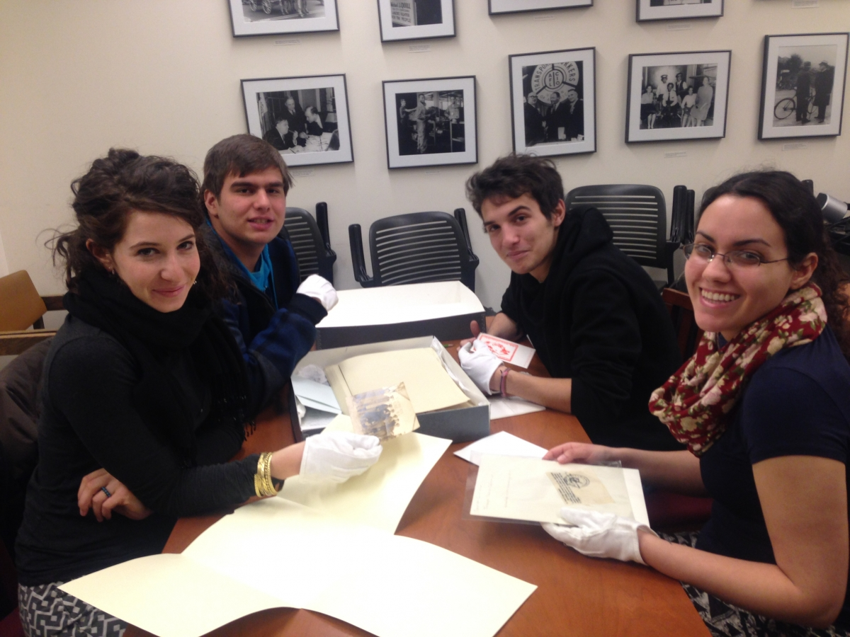 Abraham Lincoln Brigade Archives at the Tamiment Library at NYU